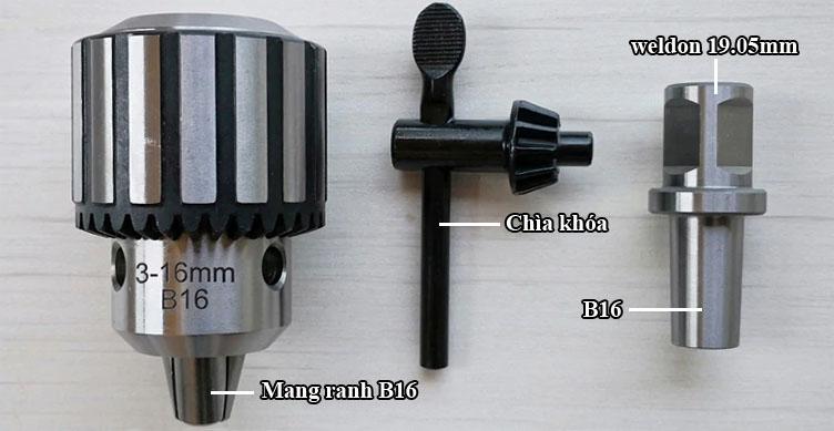 Đầu cặp măng ranh và adaptor B16