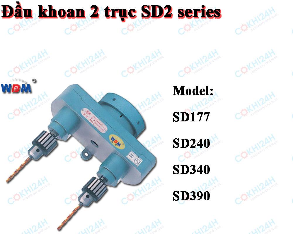 Đầu khoan 2 trục SD2 series