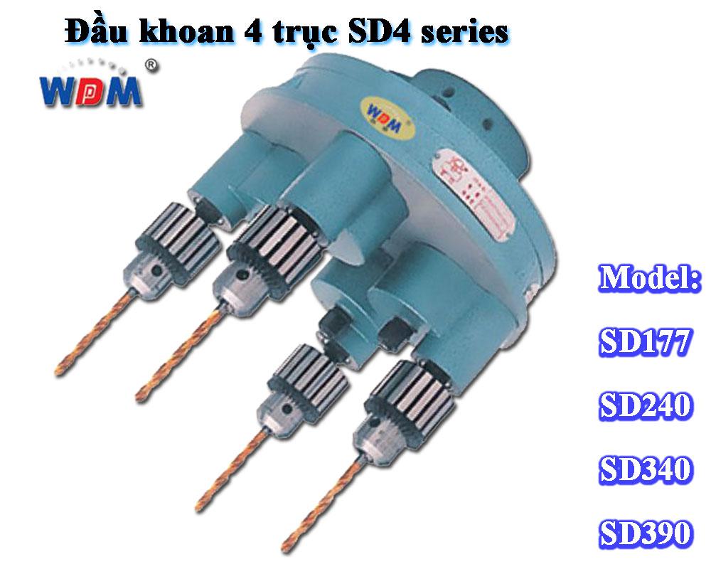 Đầu khoan 4 trục SD4 series