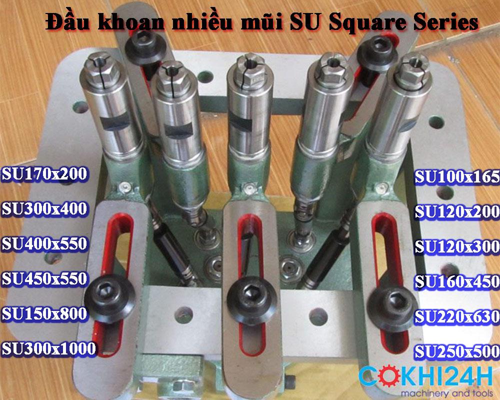 Đầu khoan nhiều mũi SU Square Series