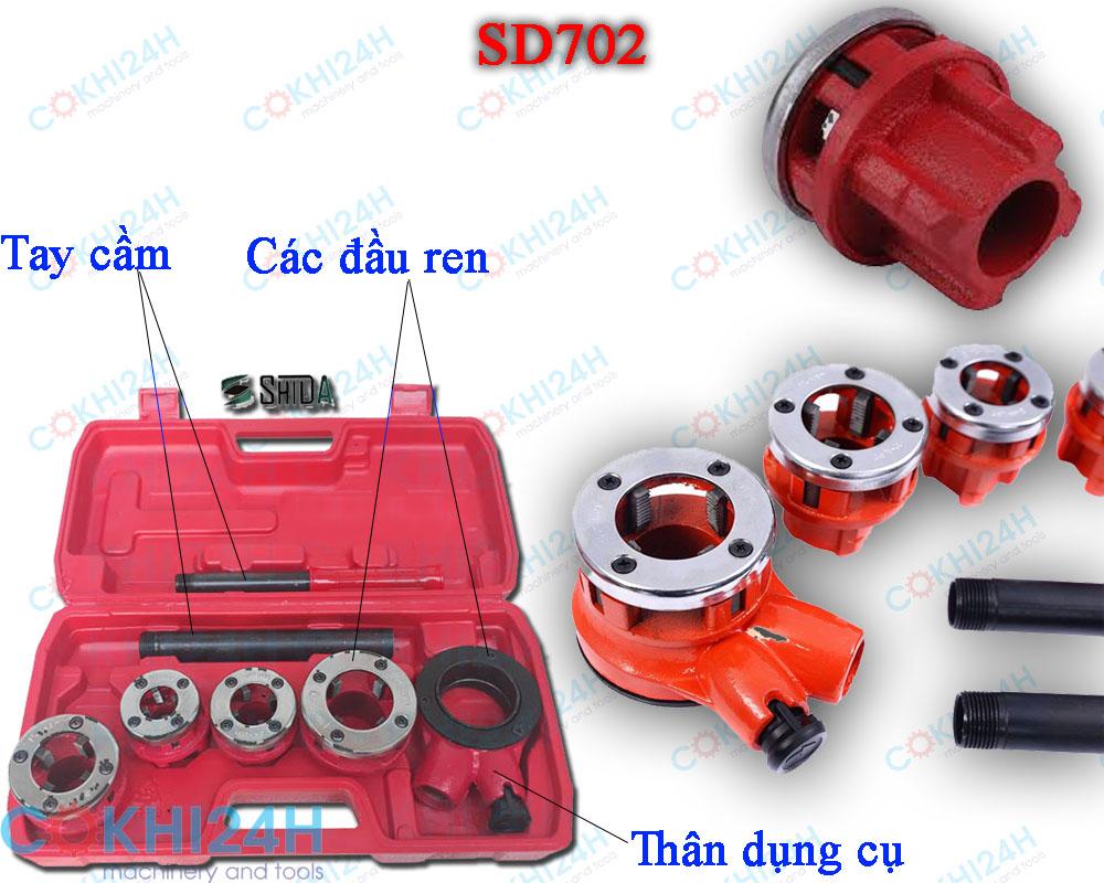 Dụng cụ ren ống bằng tay SD702