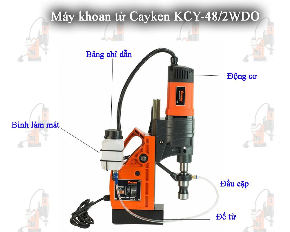 Máy khoan từ Cayken KCY-48/2WDO