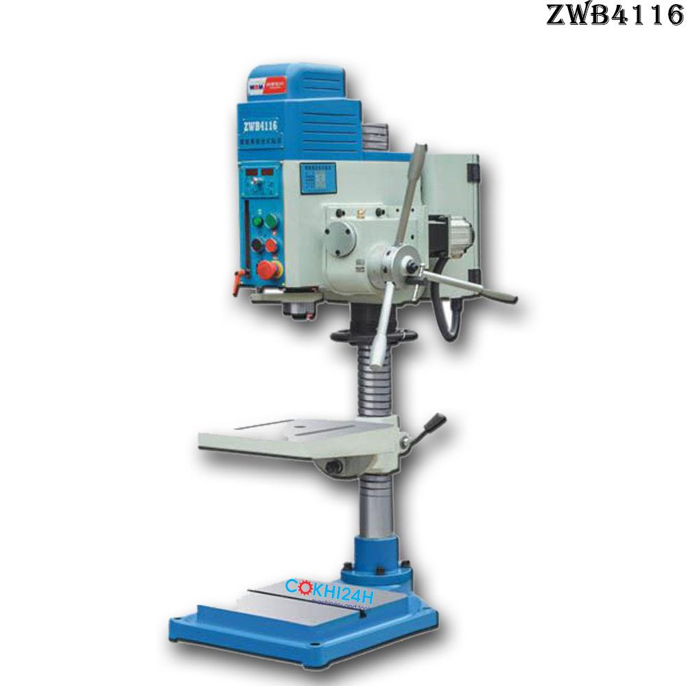 Máy khoan và ta rô thế hệ mới ZWB4116