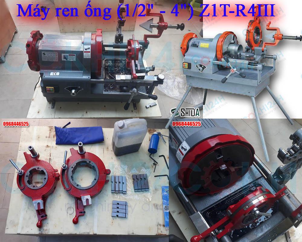 """Máy ren ống (1/2"""" - 4"""") Z1T-R4III"""